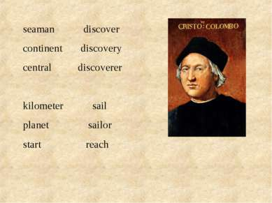 seaman discover continent discovery central discoverer kilometer sail planet ...