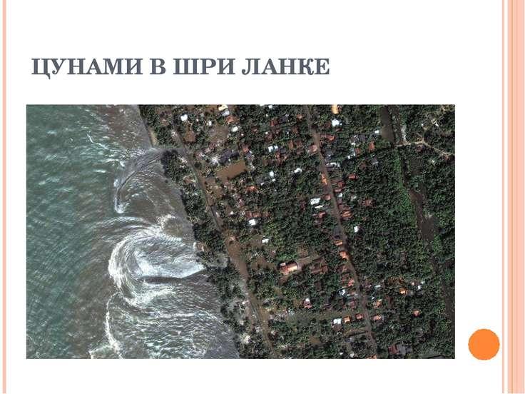 ЦУНАМИ В ШРИ ЛАНКЕ