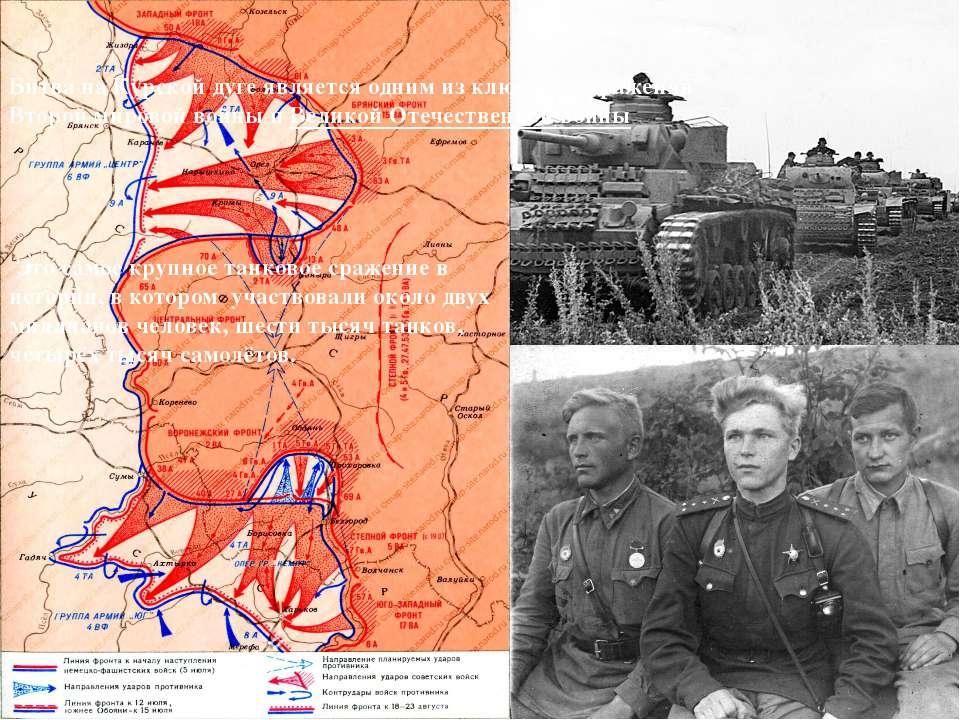 Битва на Курской дуге является одним из ключевых сражений Второй мировой войн...