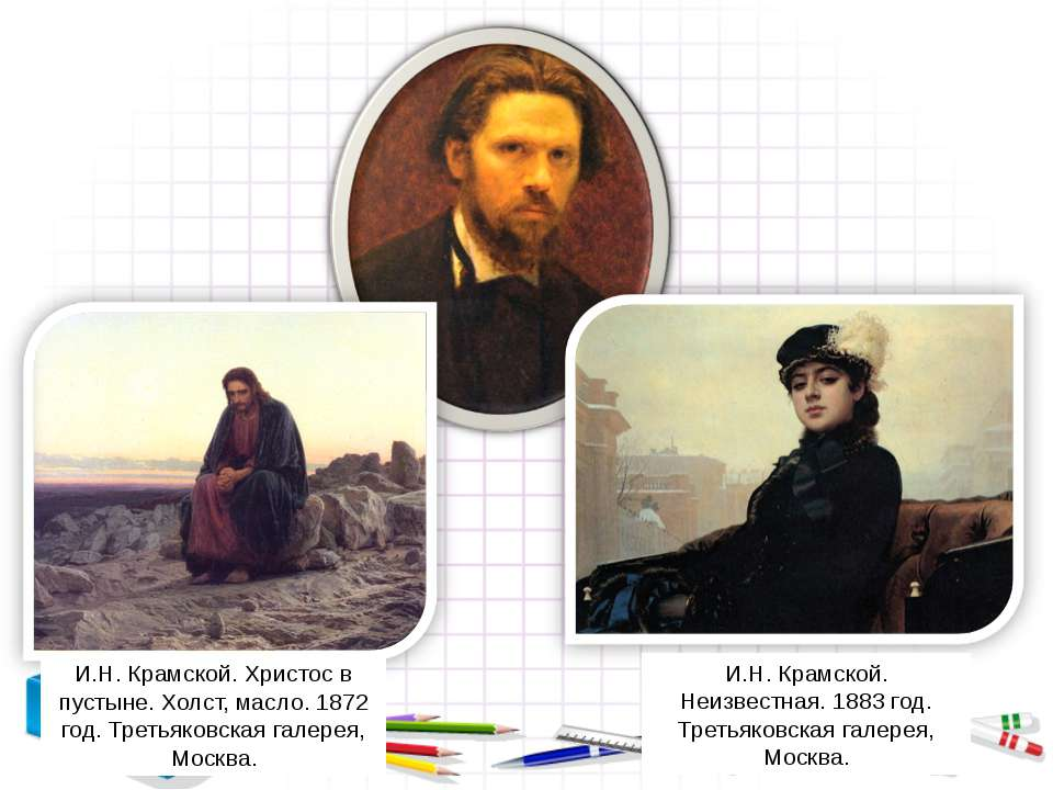 И.Н. Крамской. Неизвестная. 1883 год. Третьяковская галерея, Москва. И.Н. Кра...