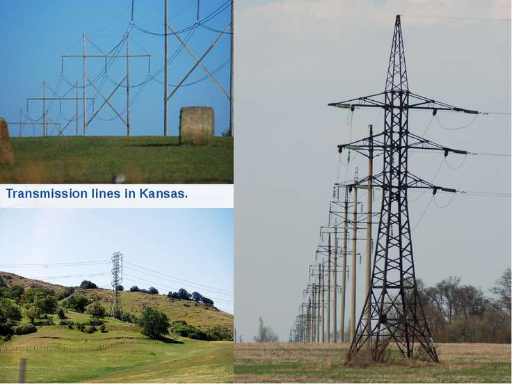 Transmission lines in Kansas.