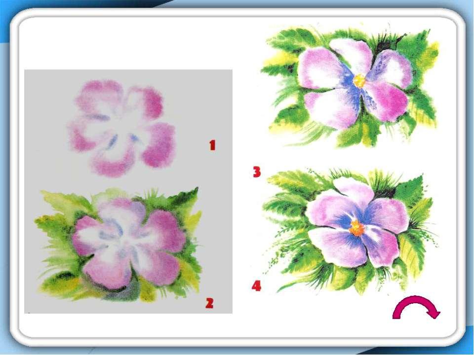 последовательность: Выполняем восковыми карандашами рисунок Заливаем рисунок ...