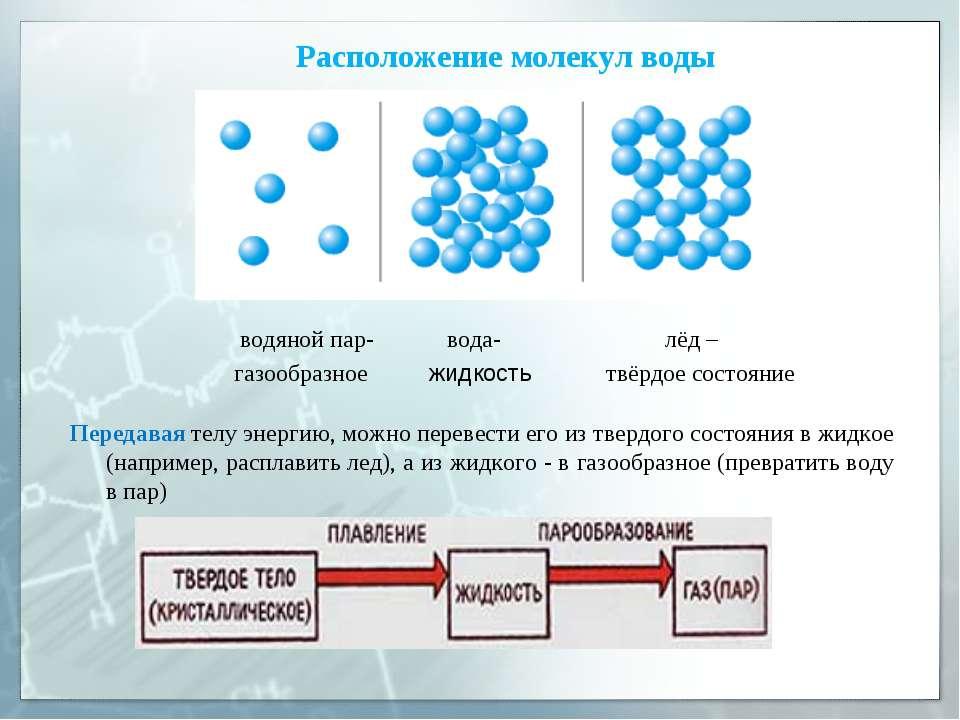 Передавая телу энергию, можно перевести его из твердого состояния в жидкое (н...