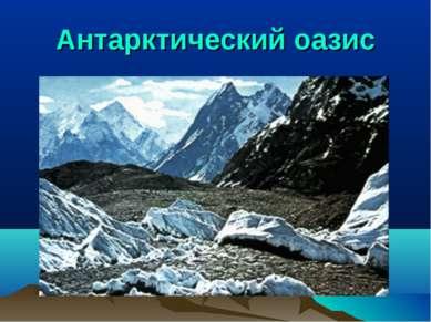 Антарктический оазис