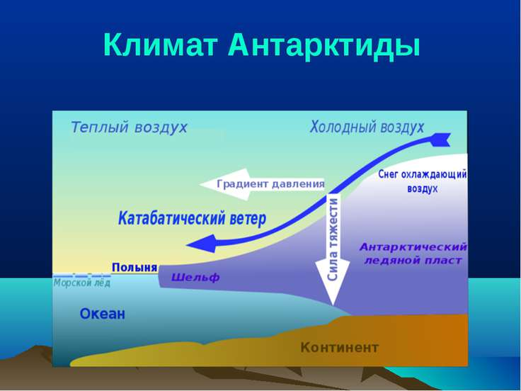 Климат Антарктиды