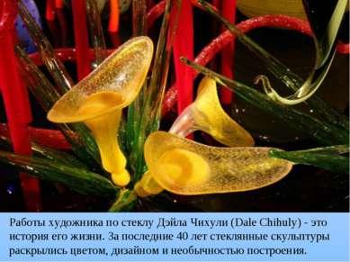 Работы художника по стеклу Дэйла Чихули (Dale Chihuly) - это история его жизн...