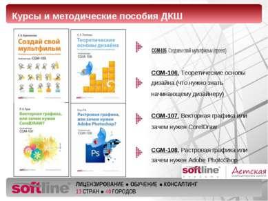 CGM-105. Создаем свой мультфильм (проект) Курсы и методические пособия ДКШ CG...