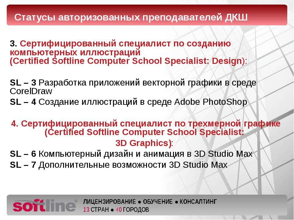3. Сертифицированный специалист по созданию компьютерных иллюстраций (Certifi...