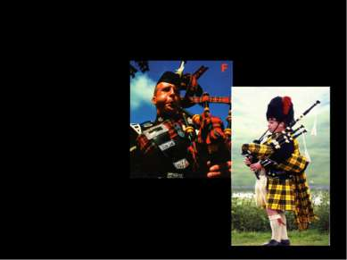 What is the traditional Scottish musical instrument? a guitar a bagpipe a drum