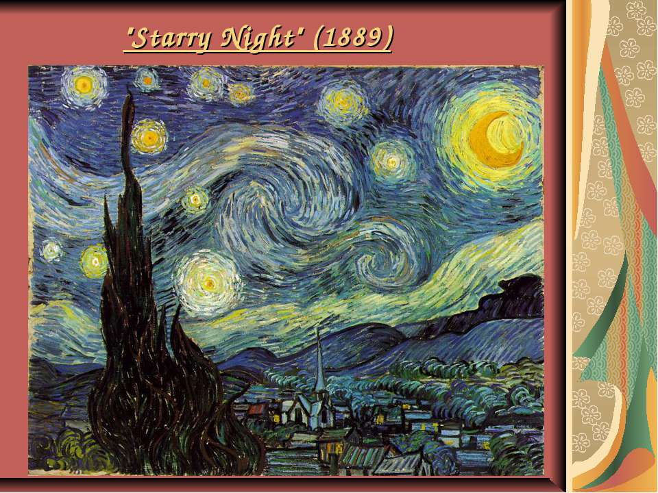 """Starry Night"" (1889)"