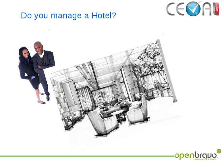 Do you manage a Hotel?