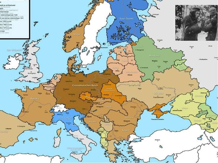 Генеральные планы третьего рейха