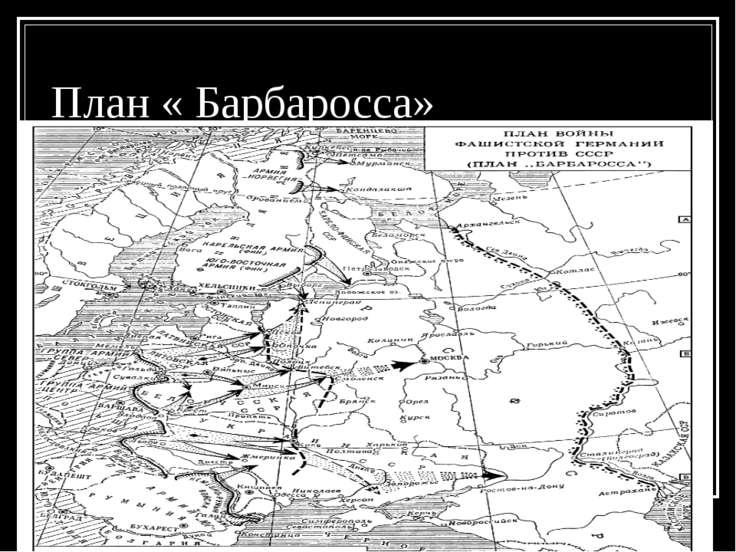 План « Барбаросса»