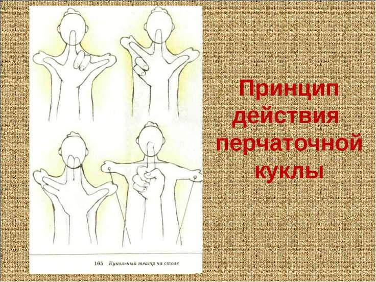 Принцип действия перчаточной куклы