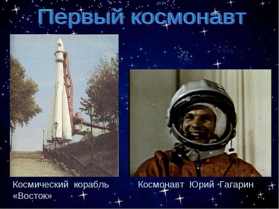 Космический корабль «Восток» Космонавт Юрий Гагарин