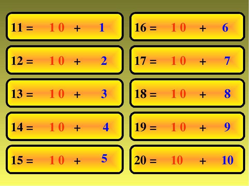 11 = 12 = 13 = 14 = 15 = 16 = 17 = 18 = 19 = 20 = 1 0 10 1 1 0 1 0 1 0 1 0 1 ...
