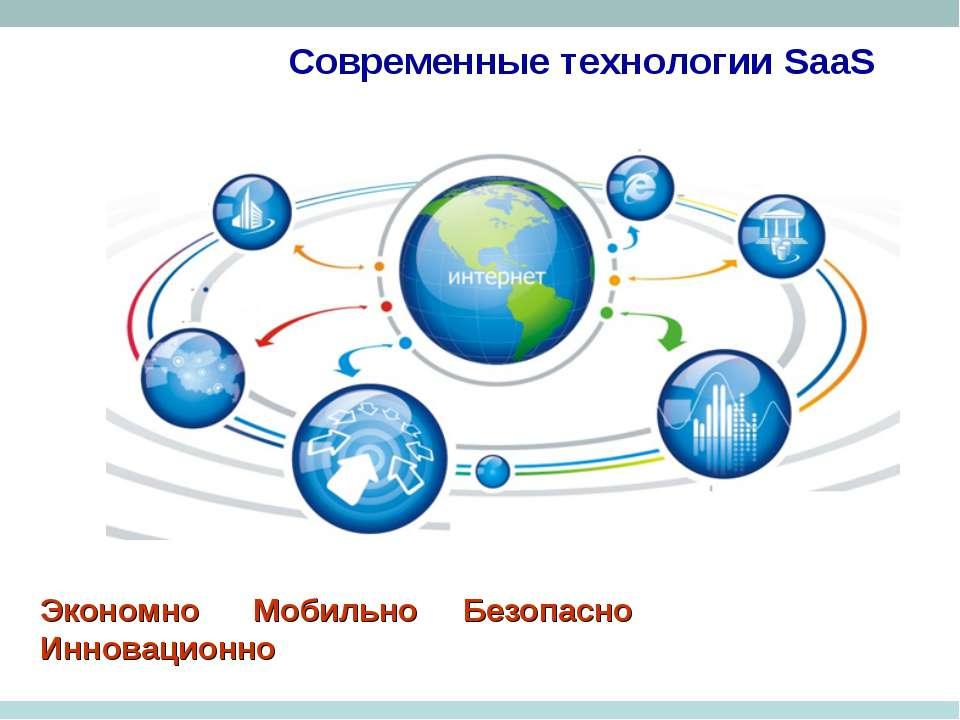 Современные технологии SaaS Экономно Мобильно Безопасно Инновационно