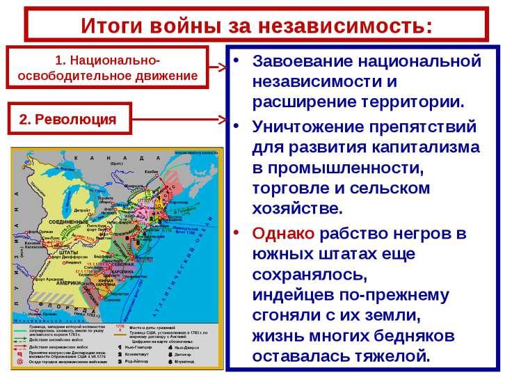 Завоевание национальной независимости и расширение территории. Завоевание нац...