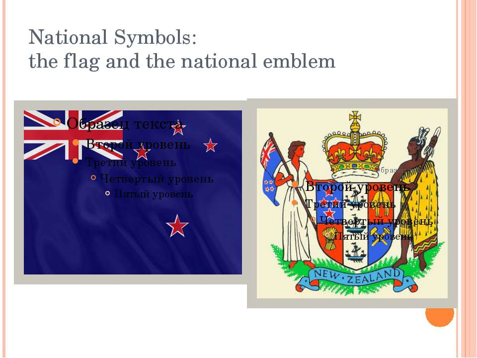 National Symbols: the flag and the national emblem
