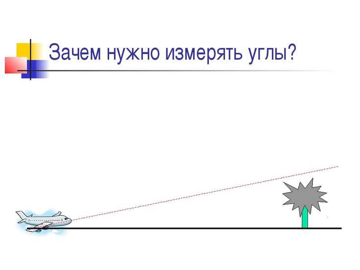 Зачем нужно измерять углы?