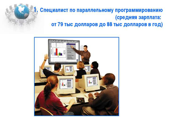 1. Специалист по параллельному программированию (средняя зарплата: от 79 тыс ...