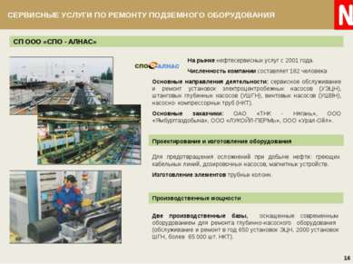 СП ООО «СПО - АЛНАС» Две производственные базы, оснащенные современным оборуд...