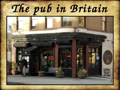 The pub in Britain