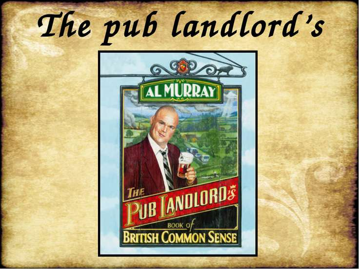 The pub landlord's
