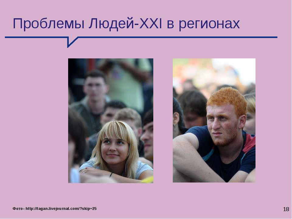 * Проблемы Людей-XXI в регионах Фото- http://tagan.livejournal.com/?skip=25