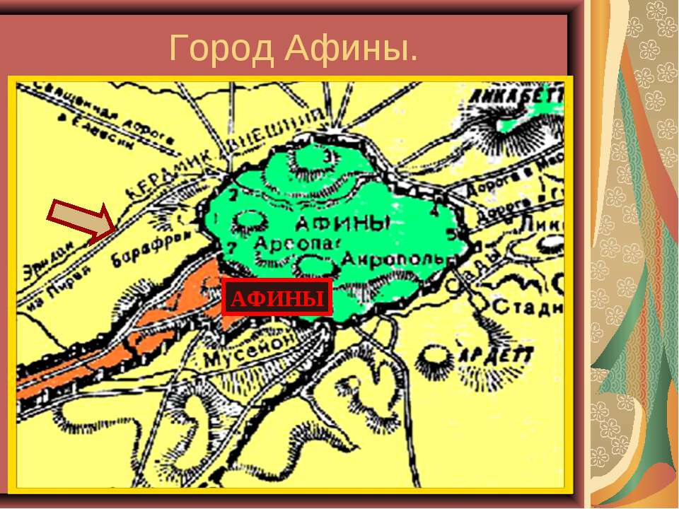 Город Афины. АФИНЫ