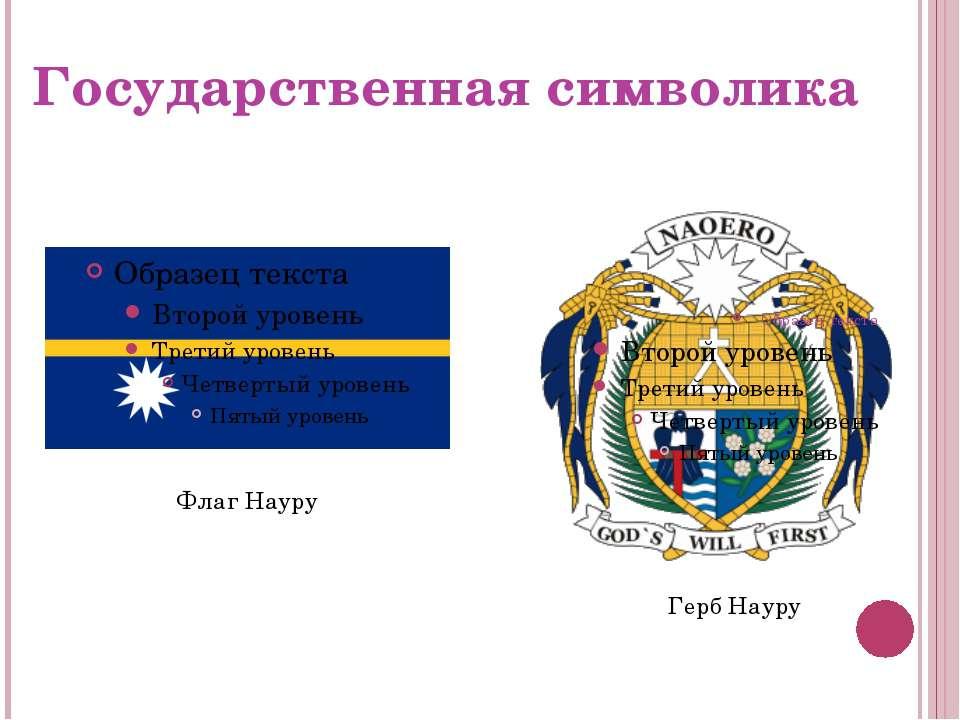 Государственная символика Флаг Науру Герб Науру