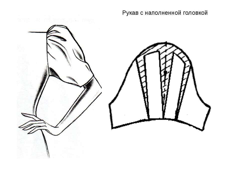 Рукав с наполненной головкой