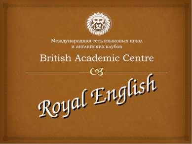 Royal English