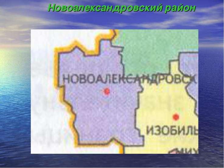 Новоалександровский район