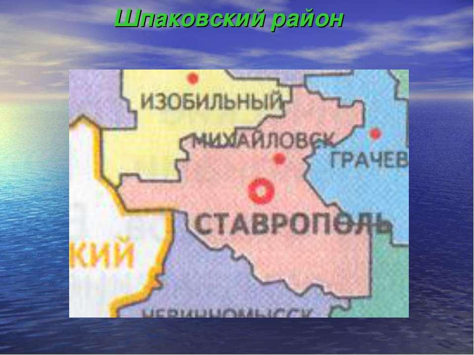 Шпаковский район