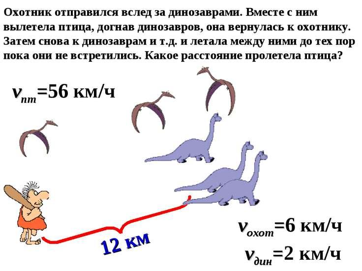 Охотник отправился вслед за динозаврами. Вместе с ним вылетела птица, догнав ...