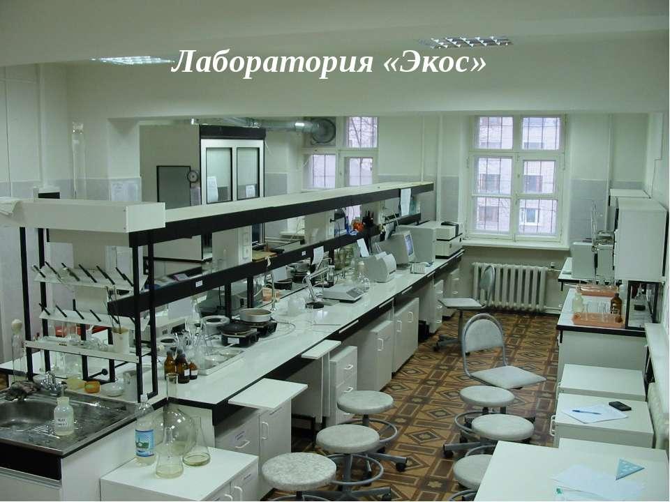 Лаборатория «Экос»