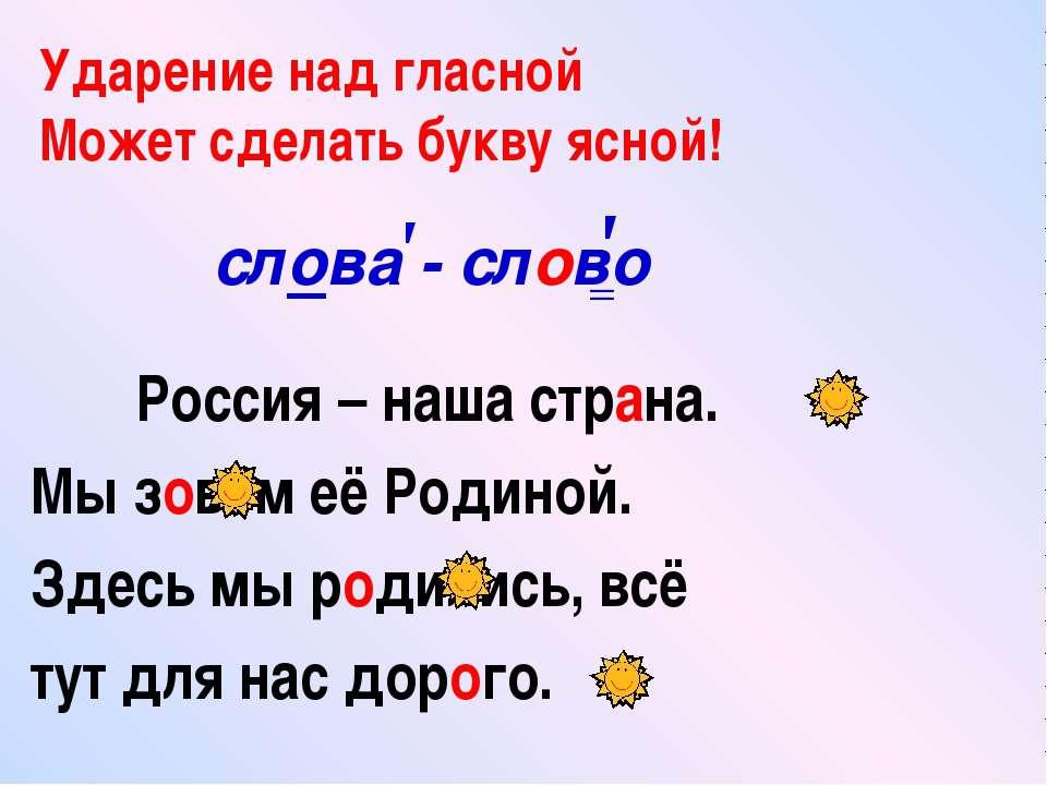 Россия – наша страна. Мы зовём её Родиной. Здесь мы родились, всё тут для нас...