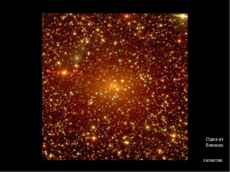 Одна из близких галактик