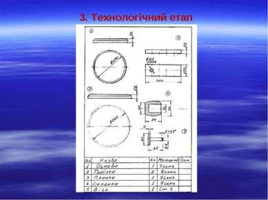 3. Технологічний етап