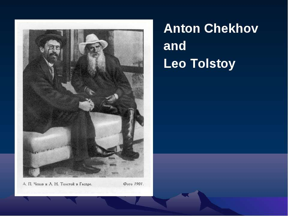 compare and contrast anton chekhov and