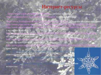 Интернет-ресурсы http://www.silax.ru/yagody/106.html - рябина красная http://...