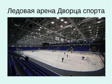 Ледовая арена Дворца спорта