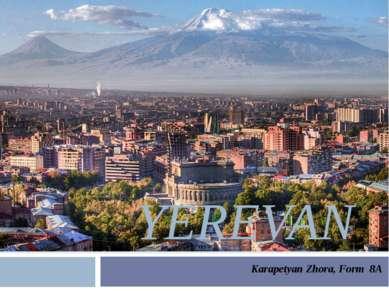 YEREVAN Karapetyan Zhora, Form 8А