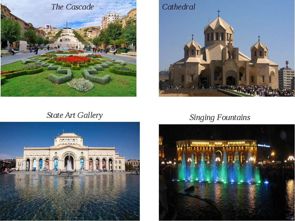 The Cascade State Art Gallery Cathedral Singing Fountains