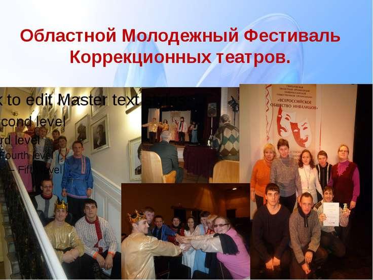 Областной Молодежный Фестиваль Коррекционных театров.