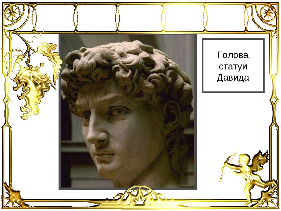 Голова статуи Давида