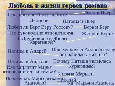 Любил ли Берг Веру Ростову? Вера и Берг Что руководило отношениями Б.Друбецко...