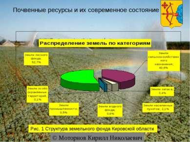 Почвенные ресурсы и их современное состояние © Моторнов Кирилл Николаевич