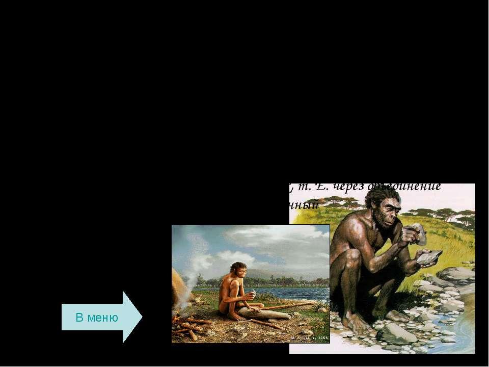 Другая группа неандертальцев характеризовалась более тонкими чертами – меньши...